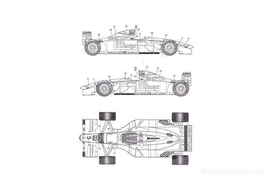 Ford Benneton F1 OW 1994