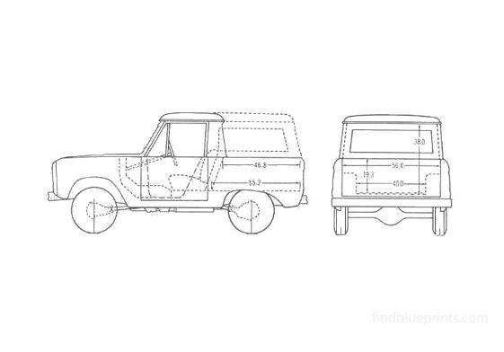 Ford Bronco SUV 1966