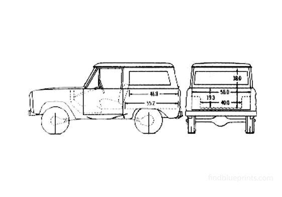 Ford Bronco SUV 1974