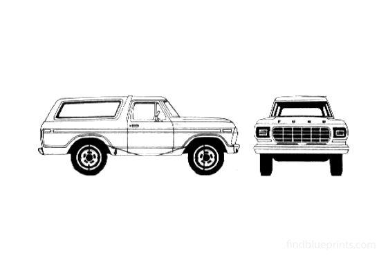Ford Bronco SUV 1979