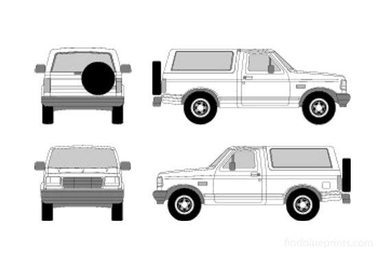 Ford Bronco SUV 1996
