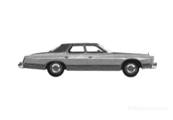 Ford Brougham Landau 4-door Sedan 1975