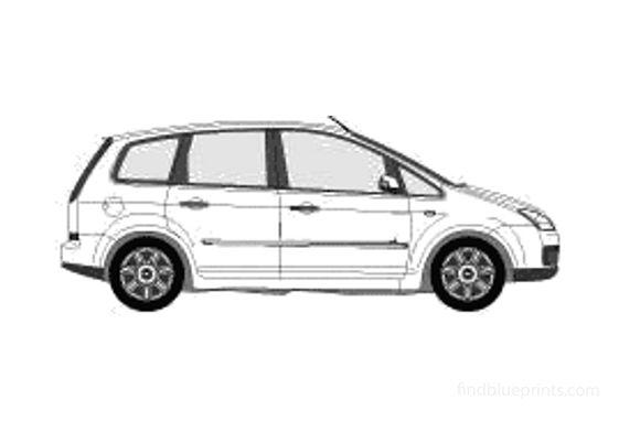 Ford C-Max Minivan 2005