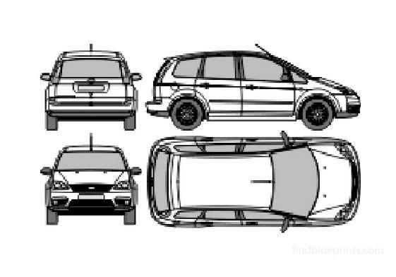Ford C-Max Minivan 2006
