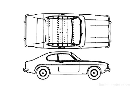 Ford Capri Mk I Coupe 1969