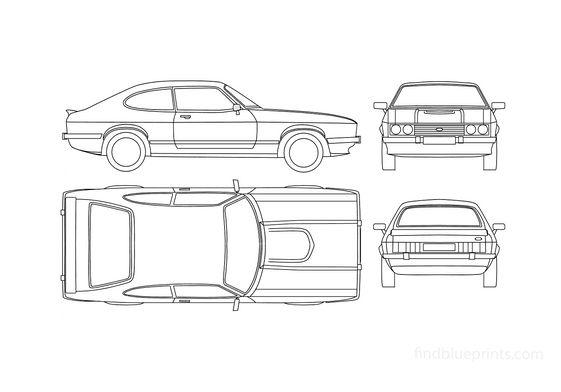 Ford Capri Mk III Coupe 1977