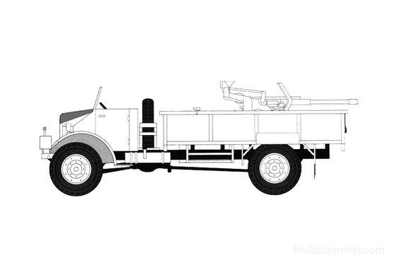 Ford CMP-60L 2cm FLAK30 Truck 1941
