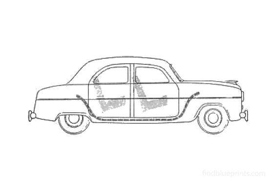 Ford Consul Sedan 1951