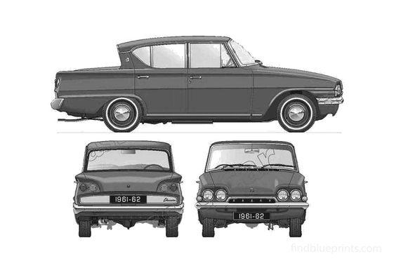 Ford Consul Classic 315 Sedan 1961