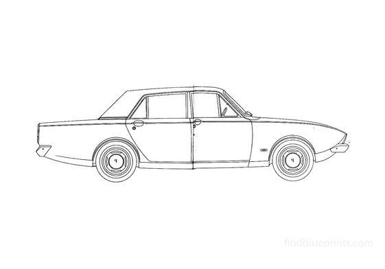 Ford Corsair Sedan 1964