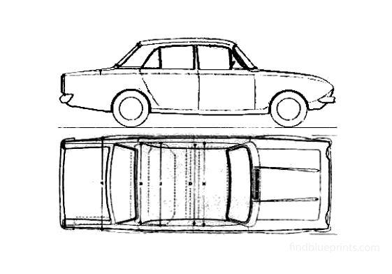 Ford Corsair Sedan 1965