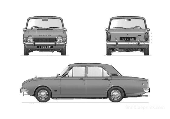 Ford Corsair GT V4 2000 Sedan 1963