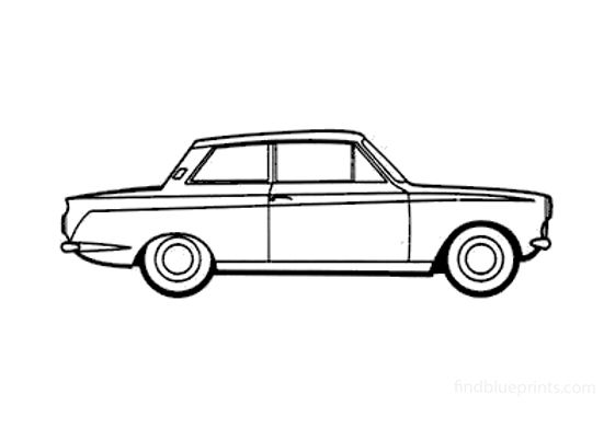 Ford Cortina Mk I 1200 Sedan 1962