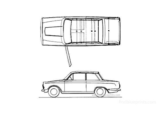 Ford Cortina Mk I 2 door Sedan 1963