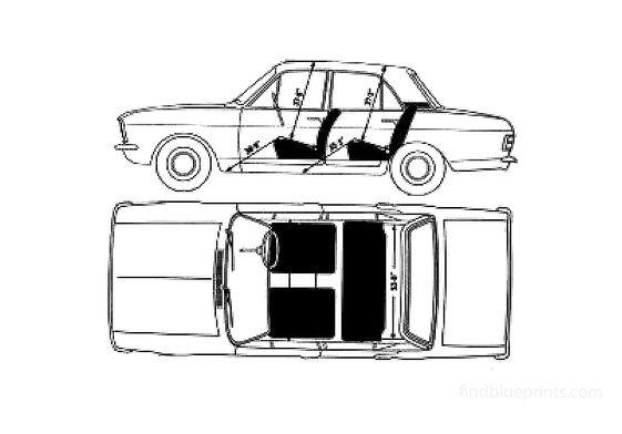 Ford Cortina Mk II Sedan 1968
