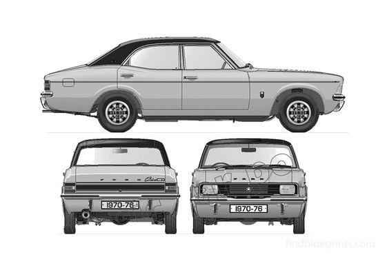 Ford Cortina Mk III 2000E Sedan 1976
