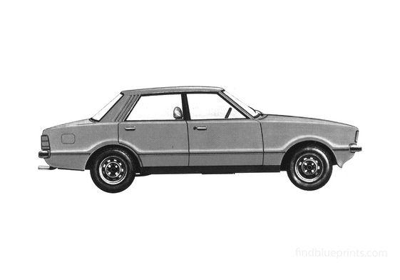 Ford Cortina Mk IV Sedan 1976