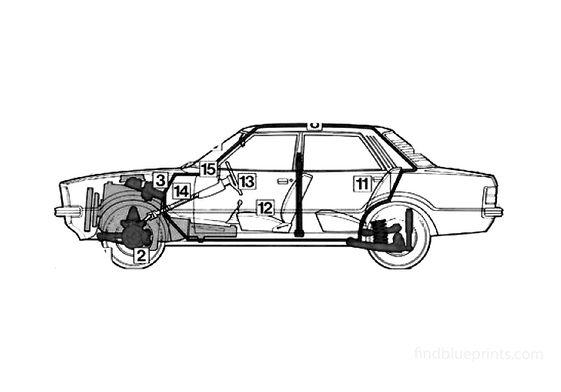 Ford Cortina Mk IV Sedan 1977
