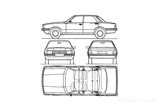 Ford Cortina Mk IV Sedan 1979