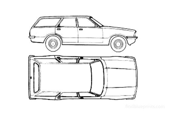 Ford Cortina Mk IV Estate Sedan 1976