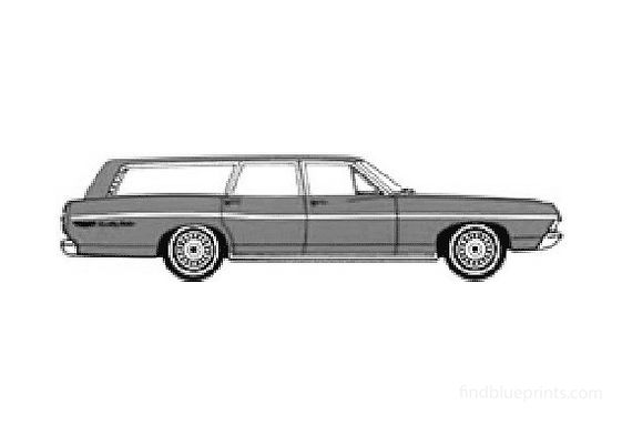 Ford Country Wagon 1968