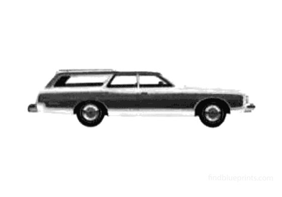 Ford Country Squire Wagon 1975
