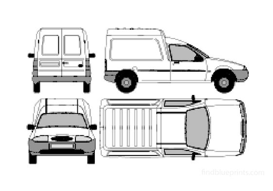 Ford Courier Van 1996
