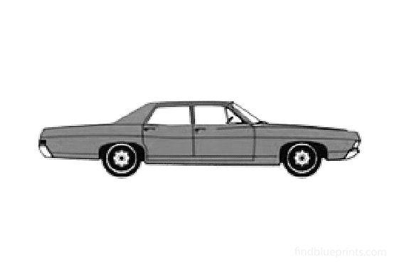 Ford Custom Sedan 1968