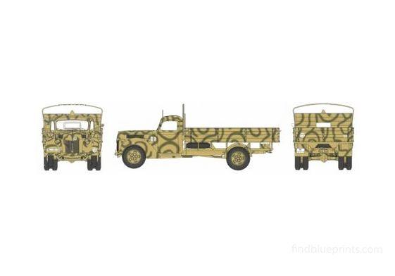 Ford D V3000S Truck