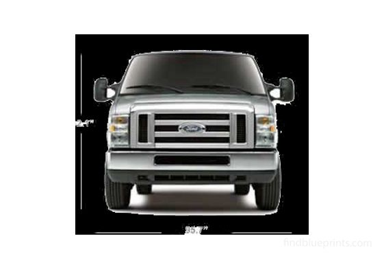 Ford E-Series Pick-up 2011