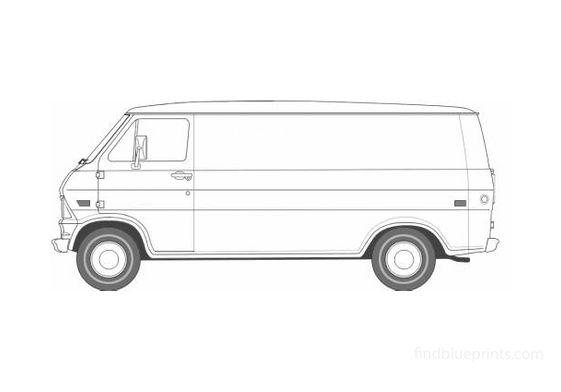 Ford Econoline Van 1969