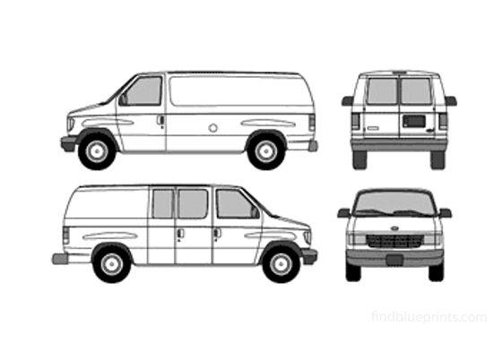 Ford Econoline Van 2003