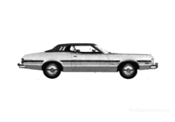 Ford Elite Coupe 1975