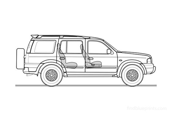 Ford Endeavour SUV 2004