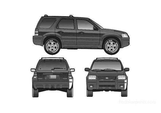Ford Escape SUV 2005