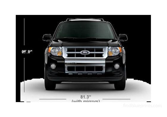 Ford Escape SUV 2011