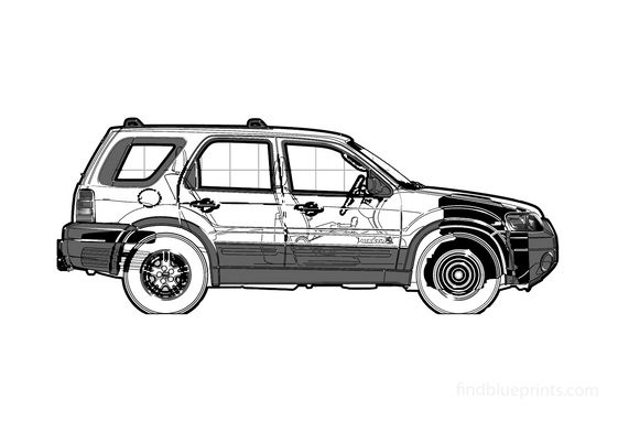 Ford Escape XLT SUV 2006