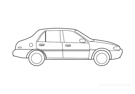 Ford Escort Sedan 2000