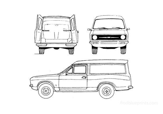 Ford Escort Van 1978