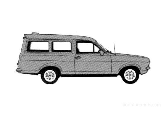 Ford Escort GL Van 1978