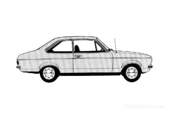 Ford Escort GL 2-door Sedan 1978