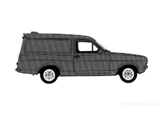 Ford Escort L Van 1978
