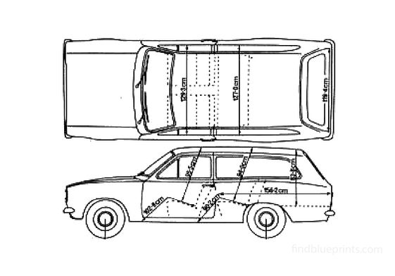 Ford Escort Mk I Estate Wagon 1972