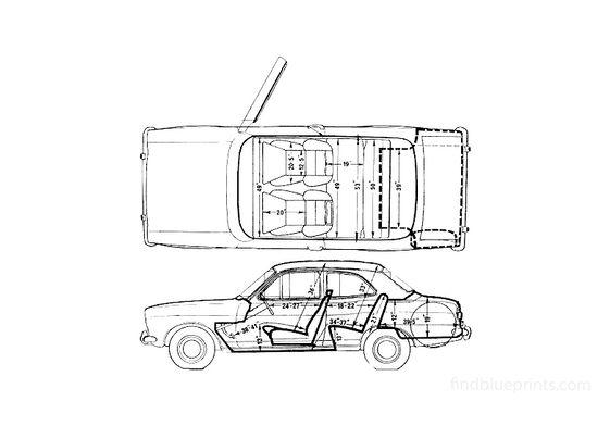 Ford Escort Mk I RS2000 Sedan 1972