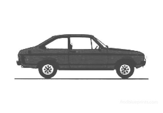 Ford Escort Mk II 2-door 1300 Sport Sedan 1978