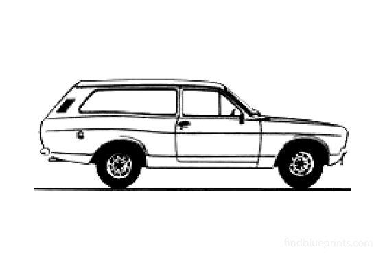 Ford Escort Mk II Estate Wagon 1978