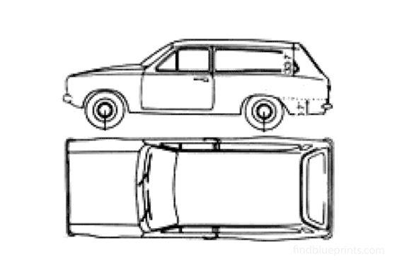 Ford Escort Mk II Estate Wagon 1979