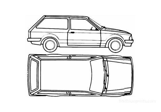 Ford Escort Mk III Estate 3 door Wagon 1980