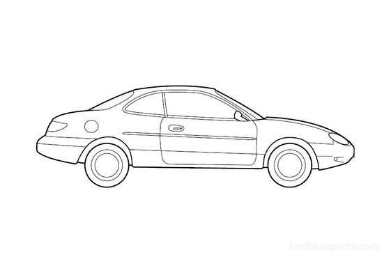 Ford Escort ZXZ Coupe 2000
