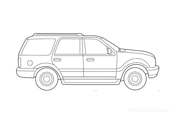Ford Expedition SUV 2000